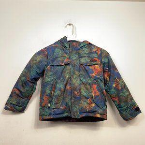 NIKE 6.0 Winter Jacket Multicolor Galaxy Zip Up